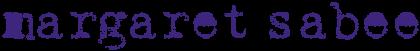 Margaret Sabee Weefkunst Retina Logo