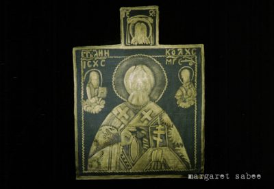 St. Nicolaas wandkleedwade van Margaret Sabee Weefkunst Den Haag