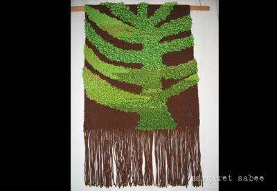 Wandkleed m e van Margaret Sabee Weefkunst Den Haag